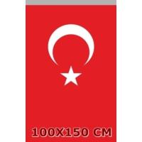 Ulu Ulu Türk Bayrağı 100X150 Cm