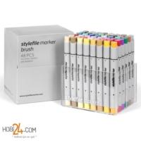 Stylefile Marker Brush 48'Li Extended Set