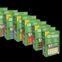 CD ve DVD Tutucu Eva Sünger Arkası Yapışkanlı 1020 adet