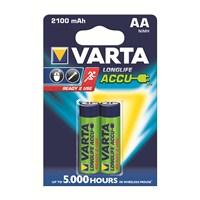 Varta Longlife Accu Ready 2 Use Pil - AA 2.100 mAh 2'li 56706101402