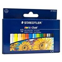 Staedtler Noris Club Yağlı Pastel Boya 12 Renk 241 NC12