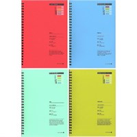 Morning Glory 11210-69173 Theme Color B5 Kalın Defter
