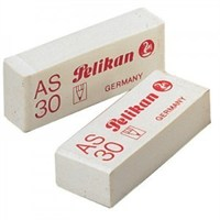 Pelikan As-30 Beyaz Silgi 3'lü Blister