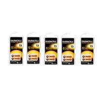 Duracell 13 Numara İşitme Cihazı Pili 5'Li Paket