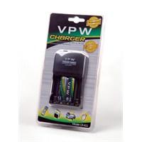 Vpw CR-611 Pil Şarj Cihazı + 2 x 2700 Mah AA Şarjlı Pil