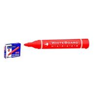 Rubenis Rbm-100/K Beyaz Tahta Kalemi-Kırmızı