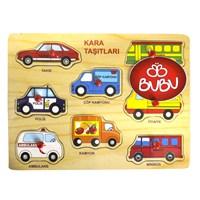 Bu-Bu Ahşap Puzzle Taşıtlar Bubu-Ap0030