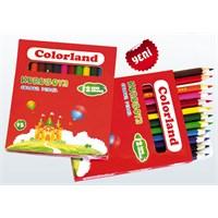 Colorland 12 Renk Kısa Kuruboya Color-Kub02