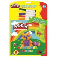 Play-Doh Silinebilir Kitap Büyük Hayvanlar Play-Sk001