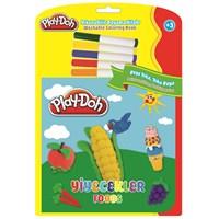 Play-Doh Silinebilir Kitap Büyük Yiyecekler Play-Sk002