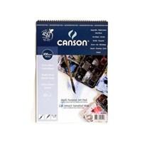 Canson Finface Çok Amaçlı Sanatsal Blok 200 Gr. Spiralli A5 20 Sayfa