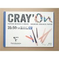 Clairefontaine Resim Defteri Cray'on 35X50 160Gr 15 Yaprak 966850
