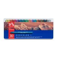 Caran D'ache Neocolor 30 Renk Wax Pastel Boya