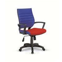 Rigel Çalışma Ve Toplantı Koltuğu - Kırmızı/Mavi