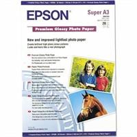 Epson Premıum Glossy 250Gr A3+ Photo Kağıt (20Li)