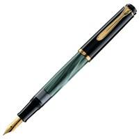 Pelikan M200 Sedef Yeşil Dolma Kalem 14 Ayar Altın Kaplama Uç ve Metal Aksam