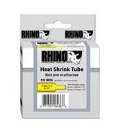 RhinoPRO Isıyla Küçülen Şerit 12mmx1,5m Sarı/Siyah