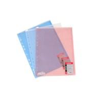 Globox Üstten Fermuarlı Mavi Dosya 6224