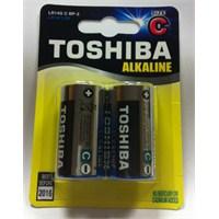 Toshiba LR14G Alkalin 2'li Orta Boy C Pil