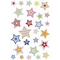 Herma Çocuk Etiketleri Kabartma Yıldızlar