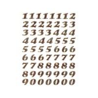 Herma Poşet Etiket 0-9 Sayı 8 mm