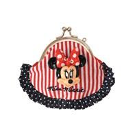 Minnie Mouse Okul Cüzdanı 9*7*2,5 cm (Kırmızı-Mavi-Beyaz)