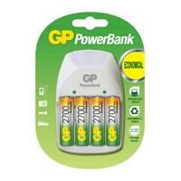 GP PowerBank PB11 Nite-Lite 4 x 2700 Kalem Pil Hediyeli Şarj Cihazı
