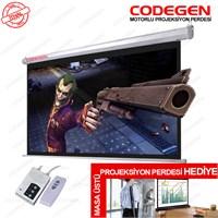 Codegen (EX-20) 200X200 Motorlu Uzaktan Kumandalı Pro.Perde+ Codegen MX-40 Perde Hediyeli