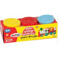 Fatih Mini Oyun Hamuru 3 Renk