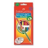 Faber-Castell Bicolor Boya Kalemi 24 Renk (5171120612)