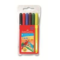 Faber-Castell Fiesta Keçeli Kalem 6'lı (5068306450)