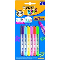 Bic Mini Kid Couleur Keçeli Boya Kalemi 12'li Blister