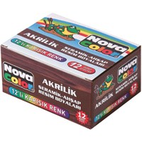 Nova Color Nc-179 Akrilik Boya 12 Renkli Set