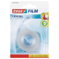 Tesa Film Clear 1adt + Bant Kesici 33m 19mm