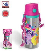My Little Pony 42926 Pipetli Çelik Matara (600 ml.)