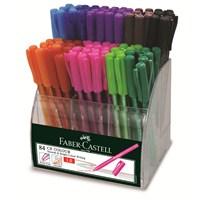 Faber-Castell Renkli Tükenmez Kalem 84lü