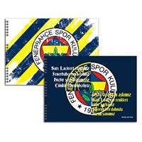 Keskin 300315-65 Fenerbahçe 35x50 cm Resim Defteri 15 Yaprak