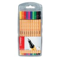 Stabilo Point 88 Karışık Renk İğne Uçlu Kalem 10'lu