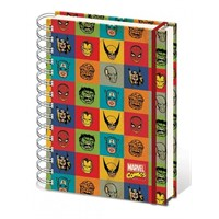A4 Defter SR71694 Marvel Faces