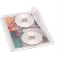Serve 2 Cd Cepli Çıtçıtlı Zarf,Klasöre Takılabilir ,Körüklü Ve Fihrist Takılma Özellikli Şeffaf Sv-6208