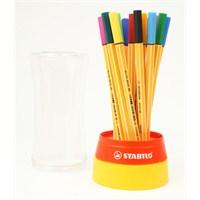 Stabilo Point 88 İğne Uçlu Twister 19 Renk - KRT Stantlı