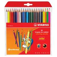 Stabilo Color Standart Kuru Boya 24 Renk Askılı Paket