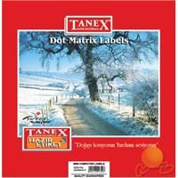 Tanex 23x40 mm Bilgisayar Etiketi