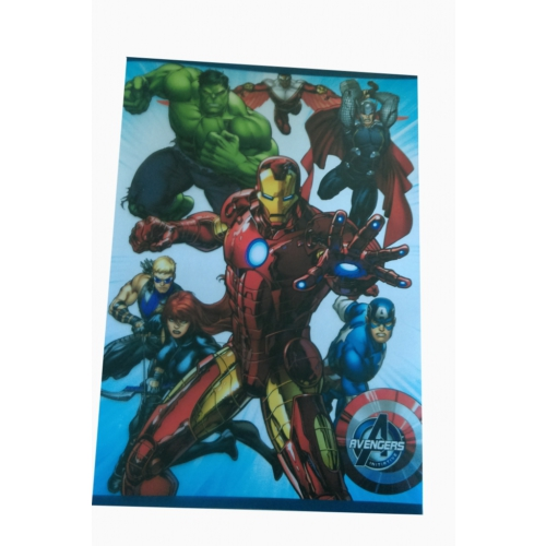 Marvel Avengers Yenilmezler Defter A4 kareli