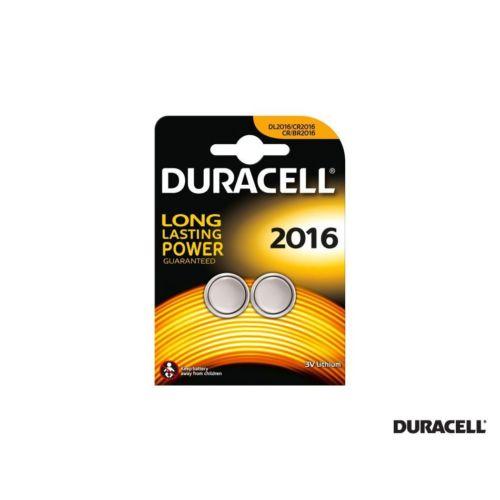 Duracell Cr2016 Lithium 3V Pil 2 Adet Kd