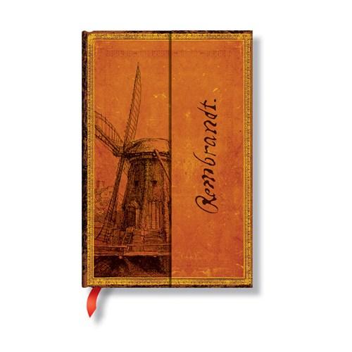 Paperblanks 5-663-X Wındmıll Mini-Çizgili ( Mini – 95 x140 mm. 176 Sf)