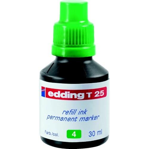 Edding T25 Permanent Refill 30 Ml. Yeşil