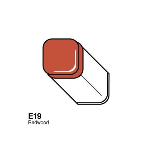 Copic Typ E - 19 Redwood