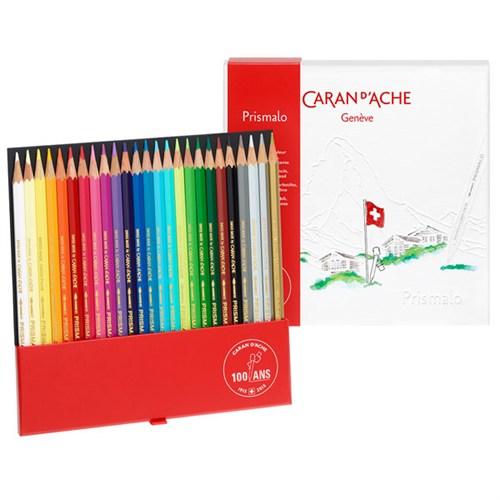 Caran D'ache 100. Yıl Prismalo 25 Renk Sulu Boya Kalemi Ca0999 - 325N