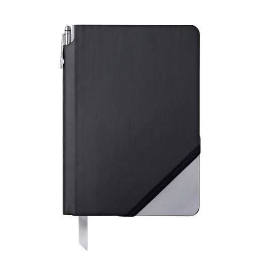 Cross Jotzone Defter Medium Siyah Gri Ac273 - 5Mb